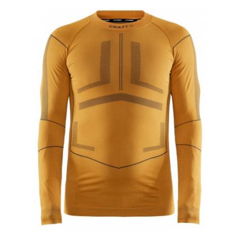 Pánské tričko CRAFT Active Intensity LS oranžová