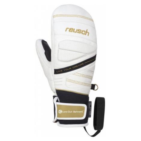 Reusch LARA GUT bílá - Lyžařské rukavice