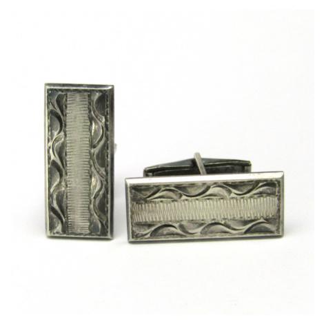 AutorskeSperky.com - Stříbrné manžetové knoflíky - S2082
