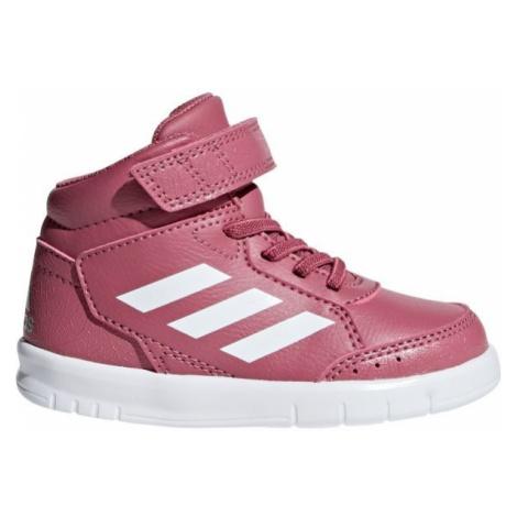 adidas ALTASPORT MID BTW K růžová - Dětská kotníková obuv