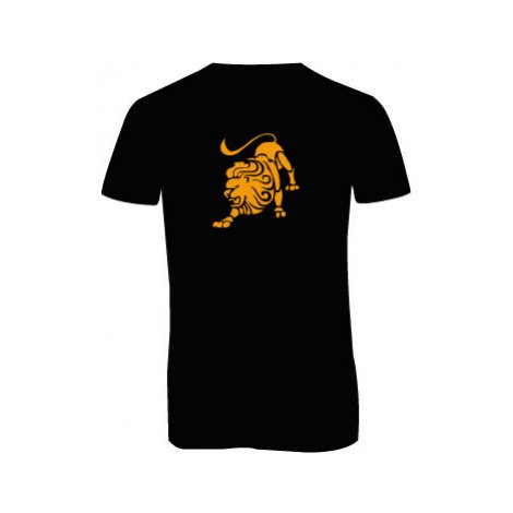 Pánské triko s výstřihem do V Lev
