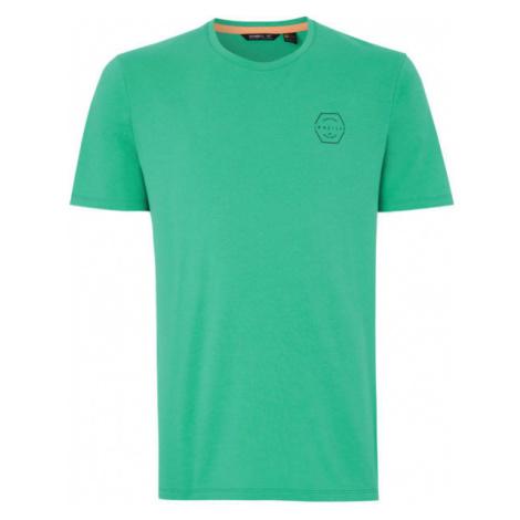 O'Neill PM TEAM HYBRID T-SHIRT zelená - Pánské tričko