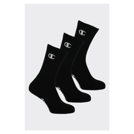 Champion ponožky 3-balení - černé