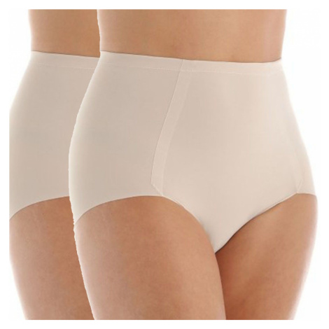 Maidenform tvarující kalhotky DM1002 2 pack tělové - Tělová