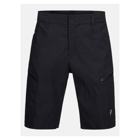 Šortky Peak Performance M Iconiq Cargo Shorts - Černá
