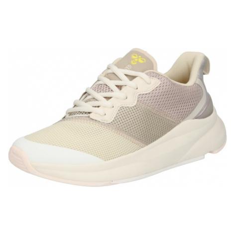Hummel Sportovní boty 'Reach LX 600' krémová / velbloudí / žlutá