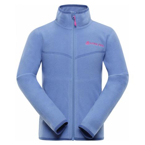 ALPINE PRO CASSIUSO 3 Dětská fleecová mikina KSWP103673 blue bonnet