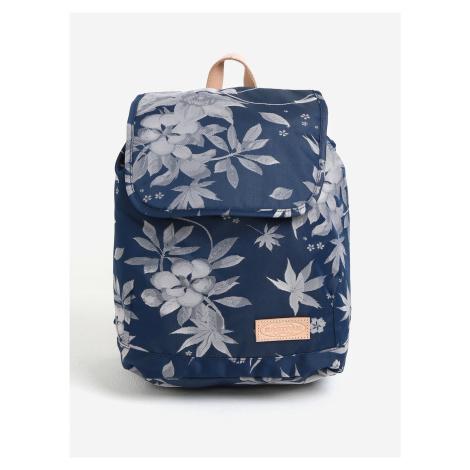Modrý dámský květovaný batoh Eastpak Superb Special Arayanna 14 l