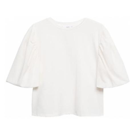MANGO Tričko 'PALOMITA' bílá