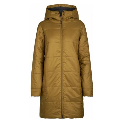 Dámské bunda ICEBREAKER Wmns Collingwood 3Q Hooded Jacket, CURRY Icebreaker Merino