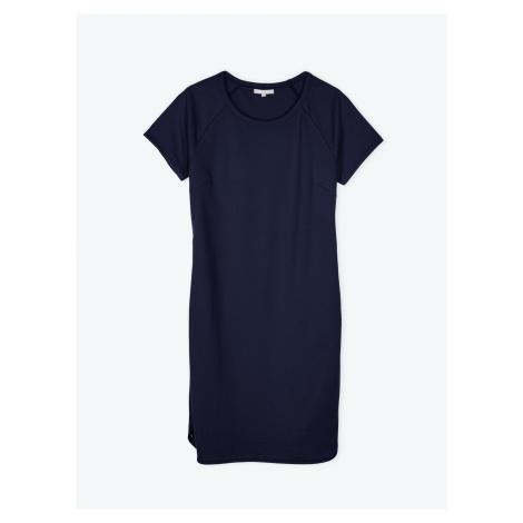 GATE Tričkové šaty se zipy