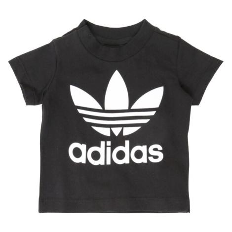 ADIDAS ORIGINALS Tričko černá / bílá