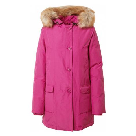 Canadian Classics Zimní bunda 'Lindsay' fuchsiová / světle hnědá
