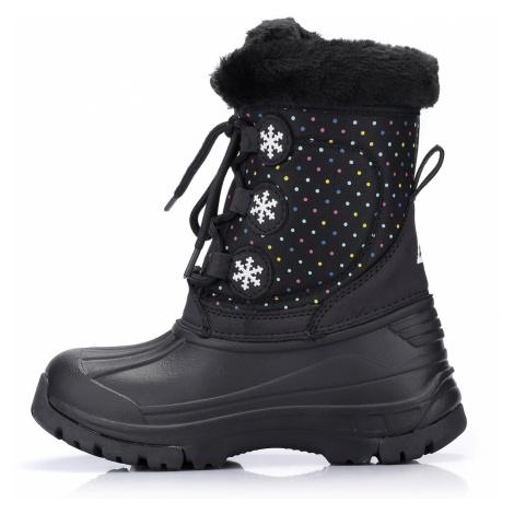 Dětské zimní boty Alpine Pro TANGGOI - černá