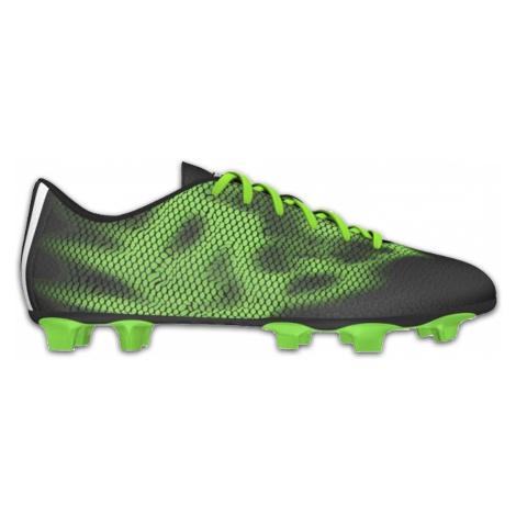 Obuv Adidas F5 FG - černá, zelená