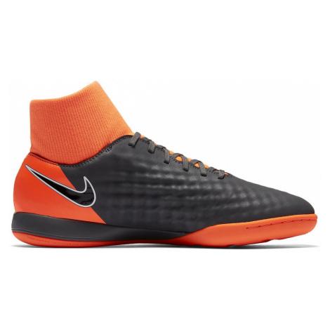Sálovky Nike MagistaX Obra II Academy DF IC Šedá / Oranžová