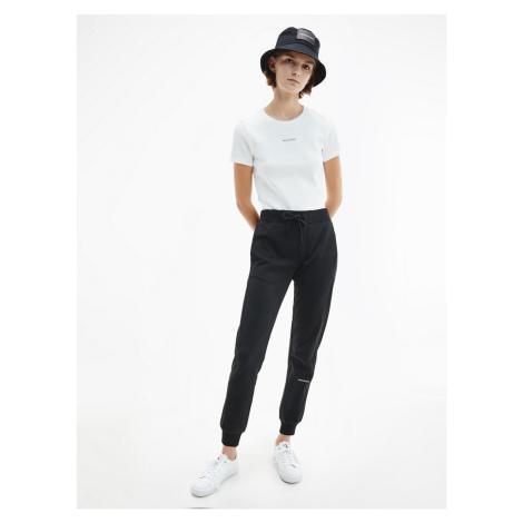 Calvin Klein Calvin Klein Jeans dámské černé teplákové kalhoty MICRO BRANDING JOGGING PANT