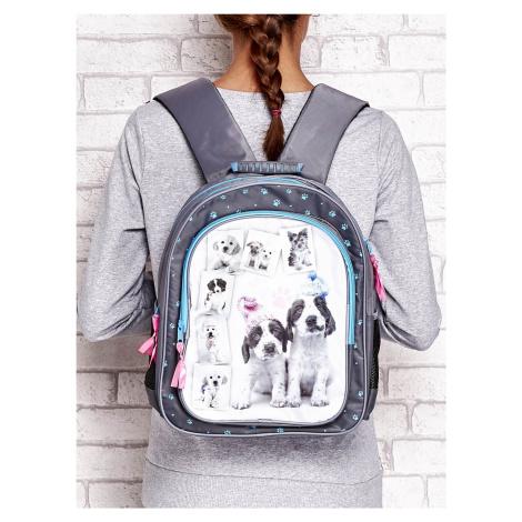 Školní batoh s potiskem štěňat ONE SIZE FPrice