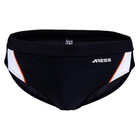 Aress NIKOS černá - Pánské slipové plavky