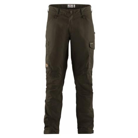 Kalhoty Fjällräven Kaipak Trousers - Dark Olive