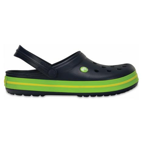 Crocs Crocband - Navy/Volt Green/Lemon