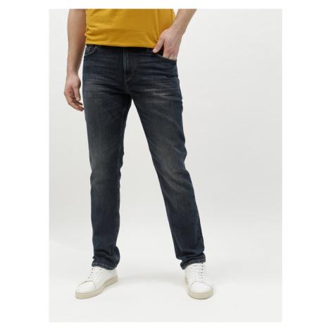 Modré pánské straight džíny Tom Tailor
