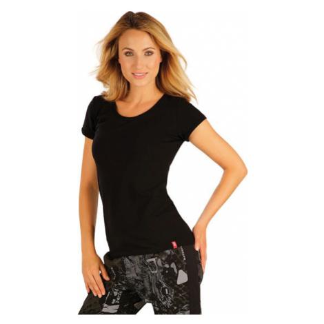 Dámské triko s krátkým rukávem Litex 99591 | černá