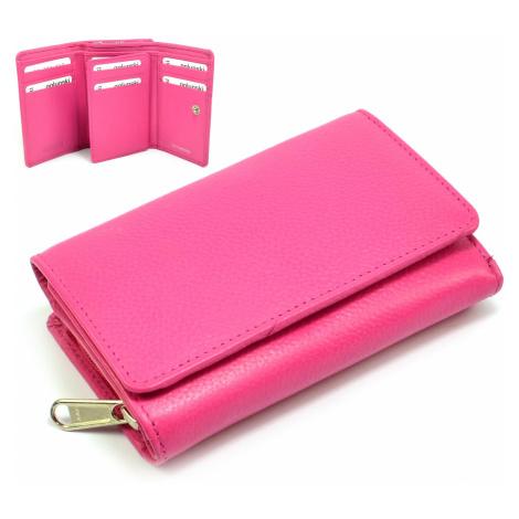 Růžová dámská peněženka Golunski