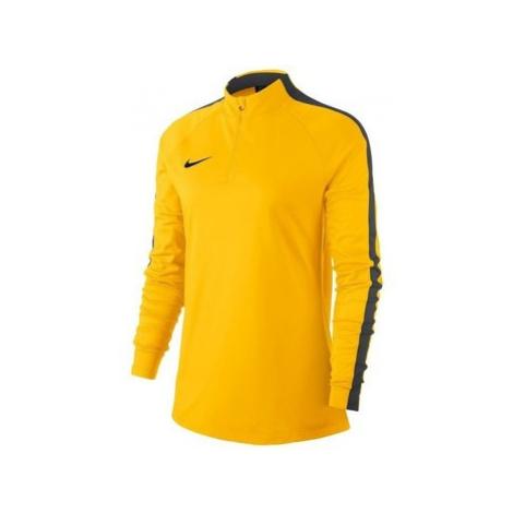 Nike Womens Dry Academy 18 Dril Top Žlutá