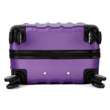 Fialový cestovní kvalitní střední kufr Corbin Lulu Bags