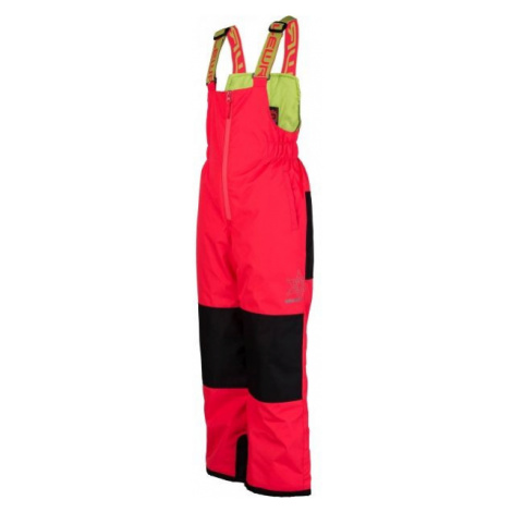 Lewro NIMA růžová - Dětské zateplené kalhoty