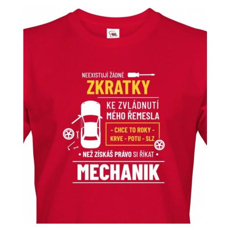 Pánské tričko pro automechaniky - ideální narozeninový dárek BezvaTriko