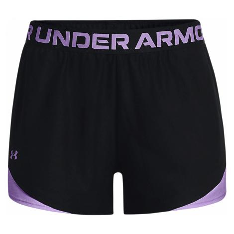 Dámské šortky Under Armour UA Play Up 3.0 Geo Short Černá / Fialová