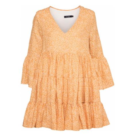 KAN Šaty 'FREESIA' oranžová / jasně oranžová