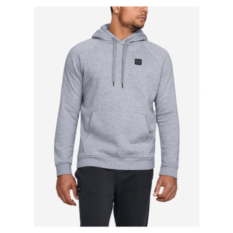 Mikina Under Armour Rival Fleece Po Hoodie Šedá
