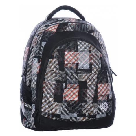 Bagmaster Studentský batoh DIGITAL 0215 C BLACK/BROWN/WHITE 24 l