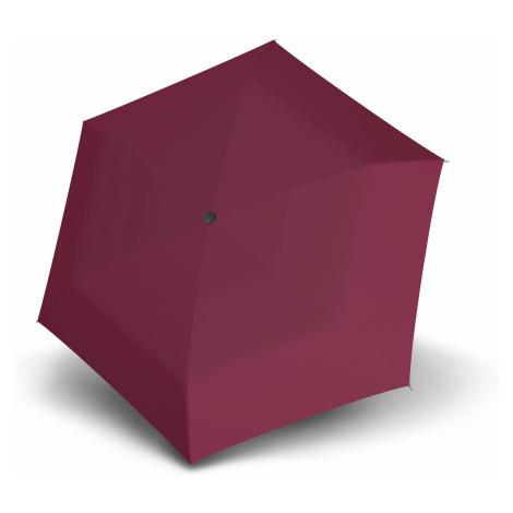 Vínový dámský/dětský lehký skládací deštník Zero Doppler