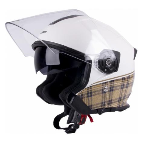 Moto Helma W-Tec V586 Černo-Zelená