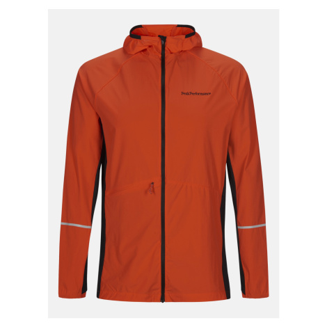 Bunda Peak Performance M Alum Light Jacket - Červená