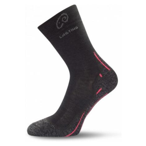 Lasting WHI-900 merino ponožky černé