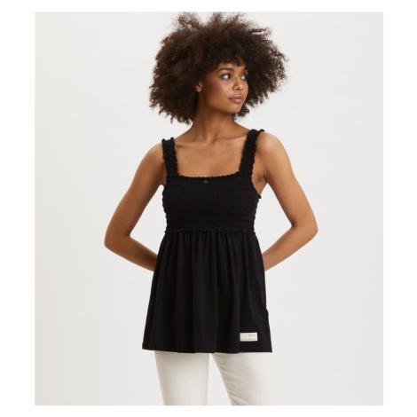 Tričko Odd Molly Peppy Top - Černá