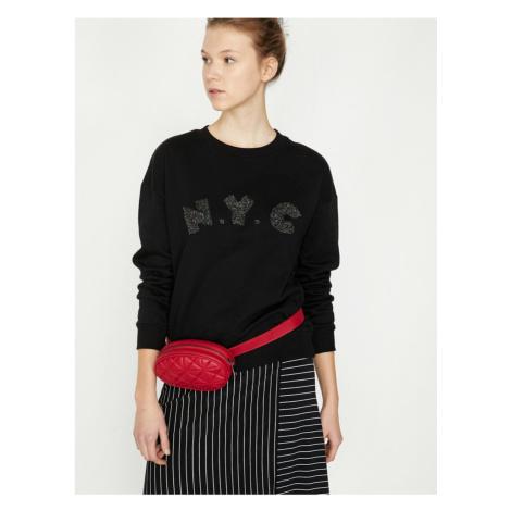 Koton Glitter Detail Sweatshirt