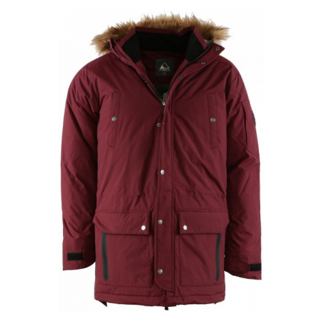 PIROL péřová bunda pánská Gentleman Parka BRIGHT STRIPE FWM17005 zimní