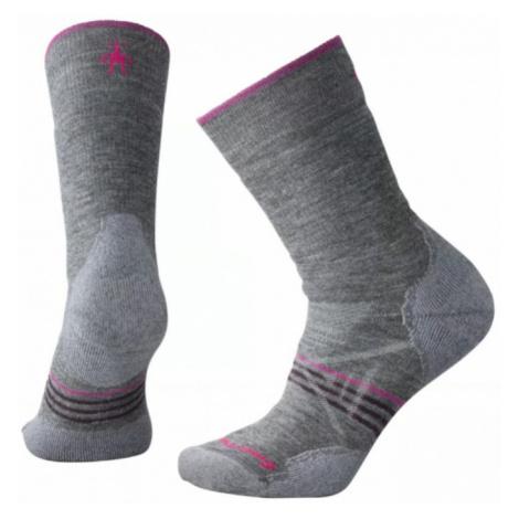 Dámské ponožky Smartwool W PhD Outdoor Medium Crew medium gray