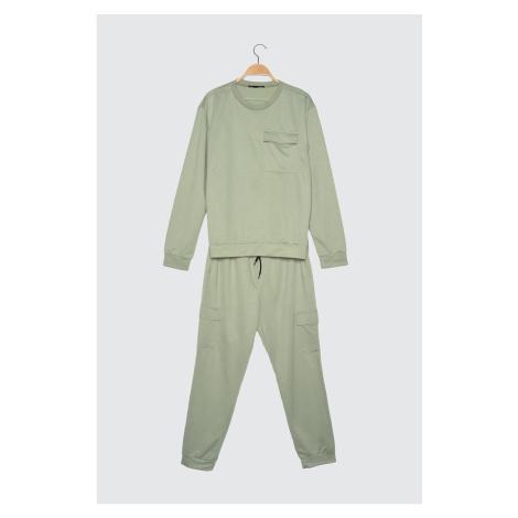 Trendyol Mint Men's Tracksuit Suit