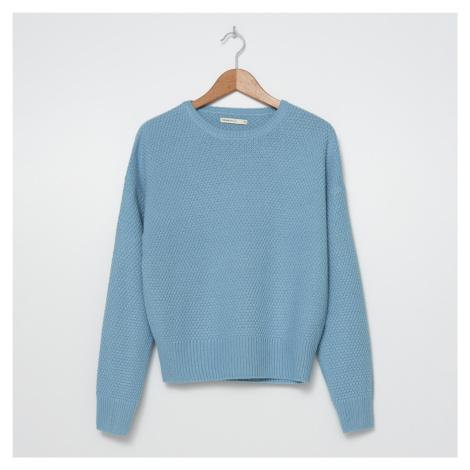 House - Teplý svetr oversize - Modrá
