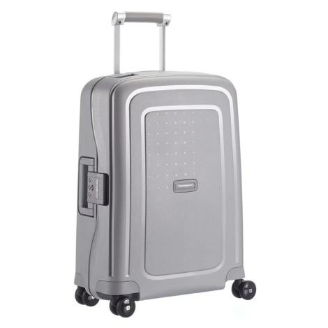 Samsonite Kabinový cestovní kufr S'Cure Spinner 10U 34 l - stříbrná
