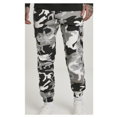 Kalhoty Urban Classics Camo Cargo Jogging Pants 2.0 - snow camouflage