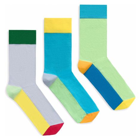 Banana Socks Unisex's Socks Set Bold Colors Set