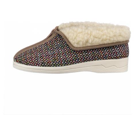 ROGALLO, Domácí obuv  24148 béžová EU 39